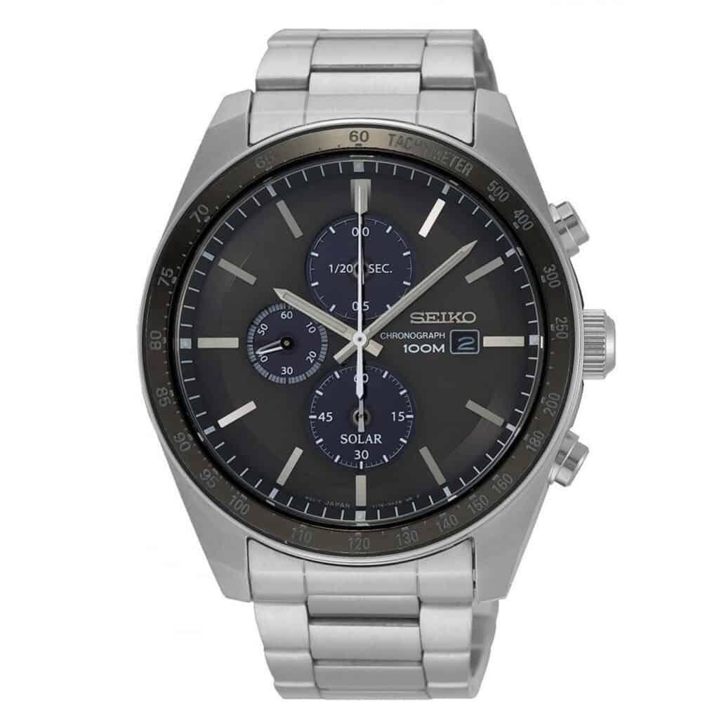 Sølv Seiko ur